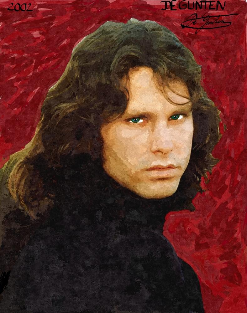 Jim Morrison by JIM